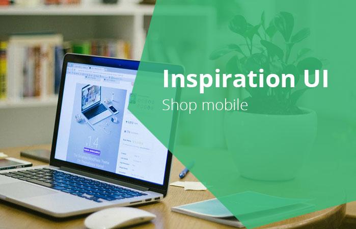 inspiration ui shop mobile - 5 inspiration UI - Shop mobile